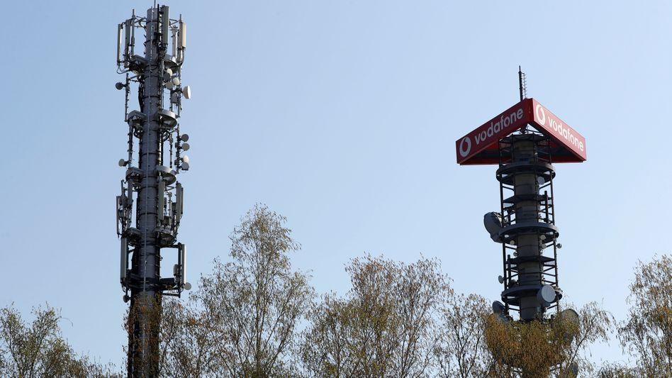 Vodafone kappt Dividende - Aufbau des 5G-Netzes belastet