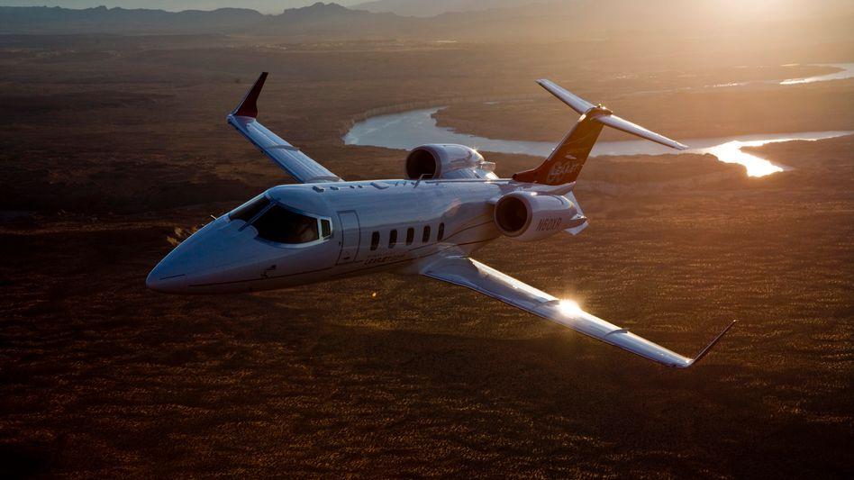 Learjet von Bombardier: Die Kanadier führen den Markt für Geschäftsflieger an