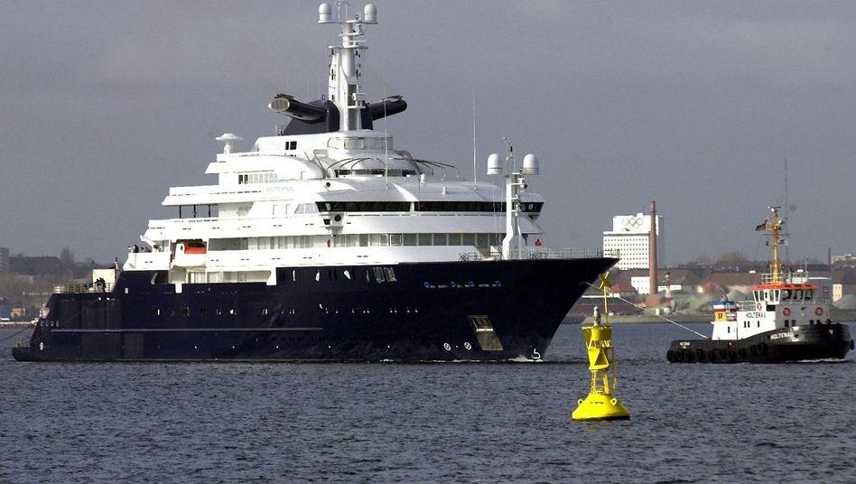 """Superyacht """"Octopus"""": Paul Allens Schiff war einmal die viertgrößte Yacht der Welt"""