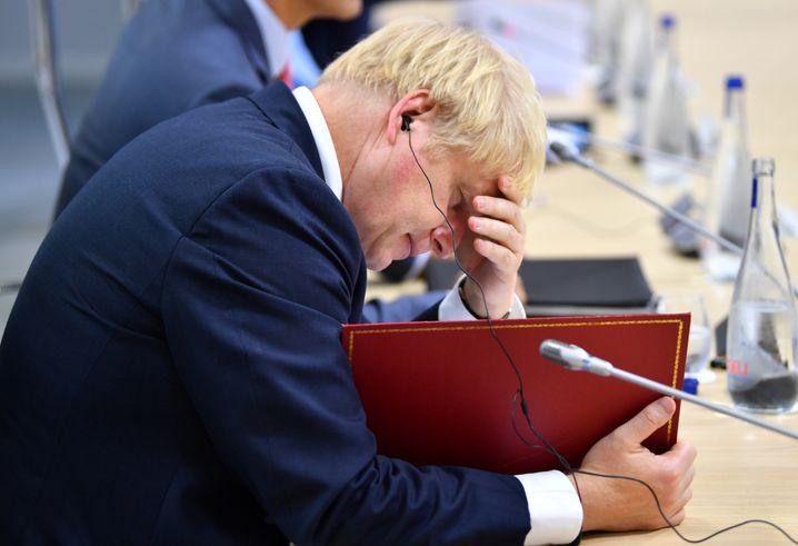 Boris Johnson: Das Urteil des Gerichts ist für den britischen Premier eine Katastrophe