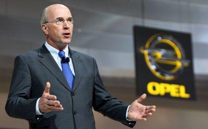 Leere Hände: General-Motors-Manager Foster verfügt angeblich nicht mehr über die Opel-Patente