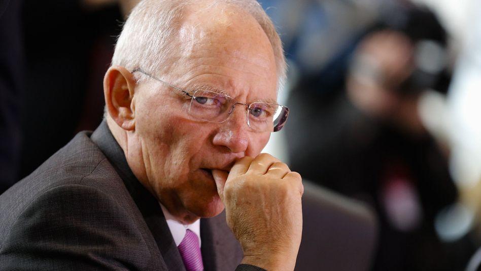 """Schäuble: """"An uns darf das nicht scheitern"""""""