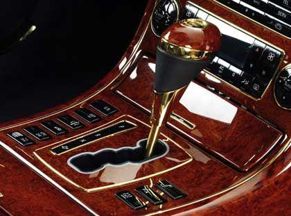 Maybach-Schaltknüppel mit Goldeinlage: Zwei Millionen Wahlmöglichkeiten, den Luxuswagen nobler zu gestalten