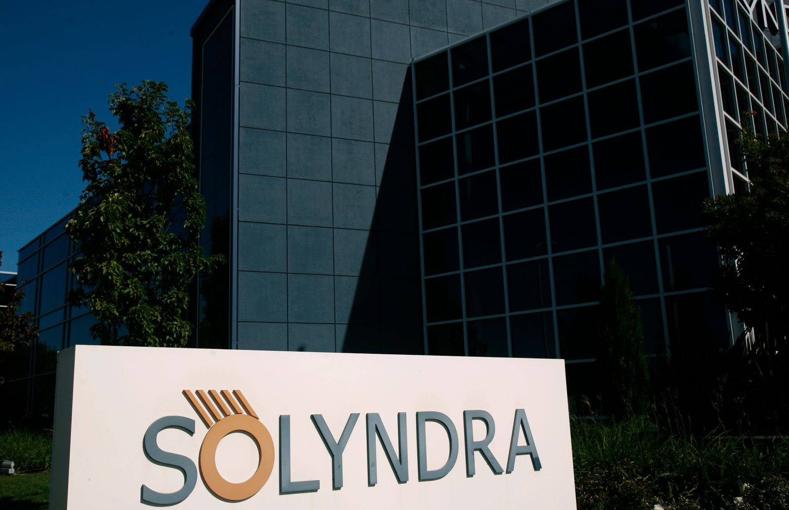 Headquarters of bankrupt Solyndra LLC / Fremont