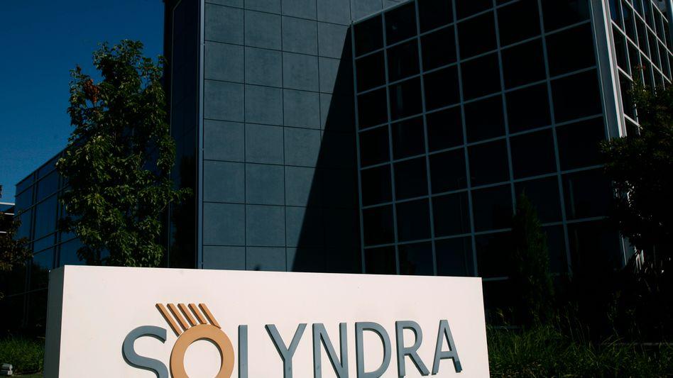 Solyndra-Hauptquartier im kalifornischen Fremont: Die Solarfirma ist seit September pleite