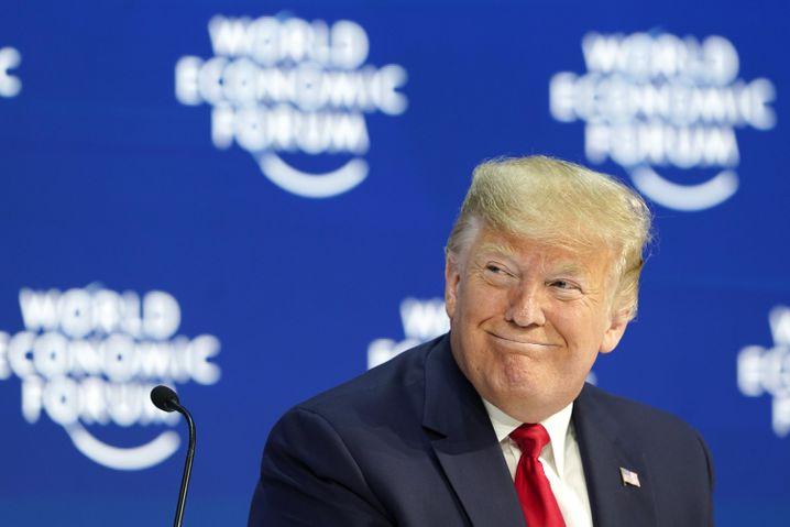 """Trump zur Frage eines Handelsabkommens mit der EU: """"Sie werden einen Deal machen, weil sie müssen, sie müssen"""""""