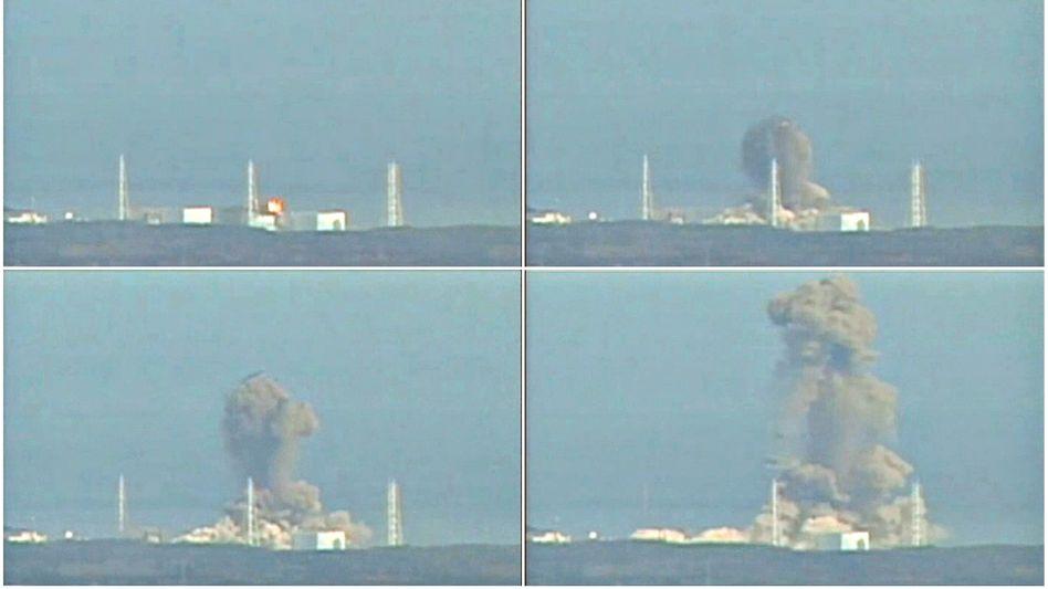 Explosion im Kernkraftwerk Fukushima: Japan und Deutschland gehören zu den fünf größten Atomstromproduzenten