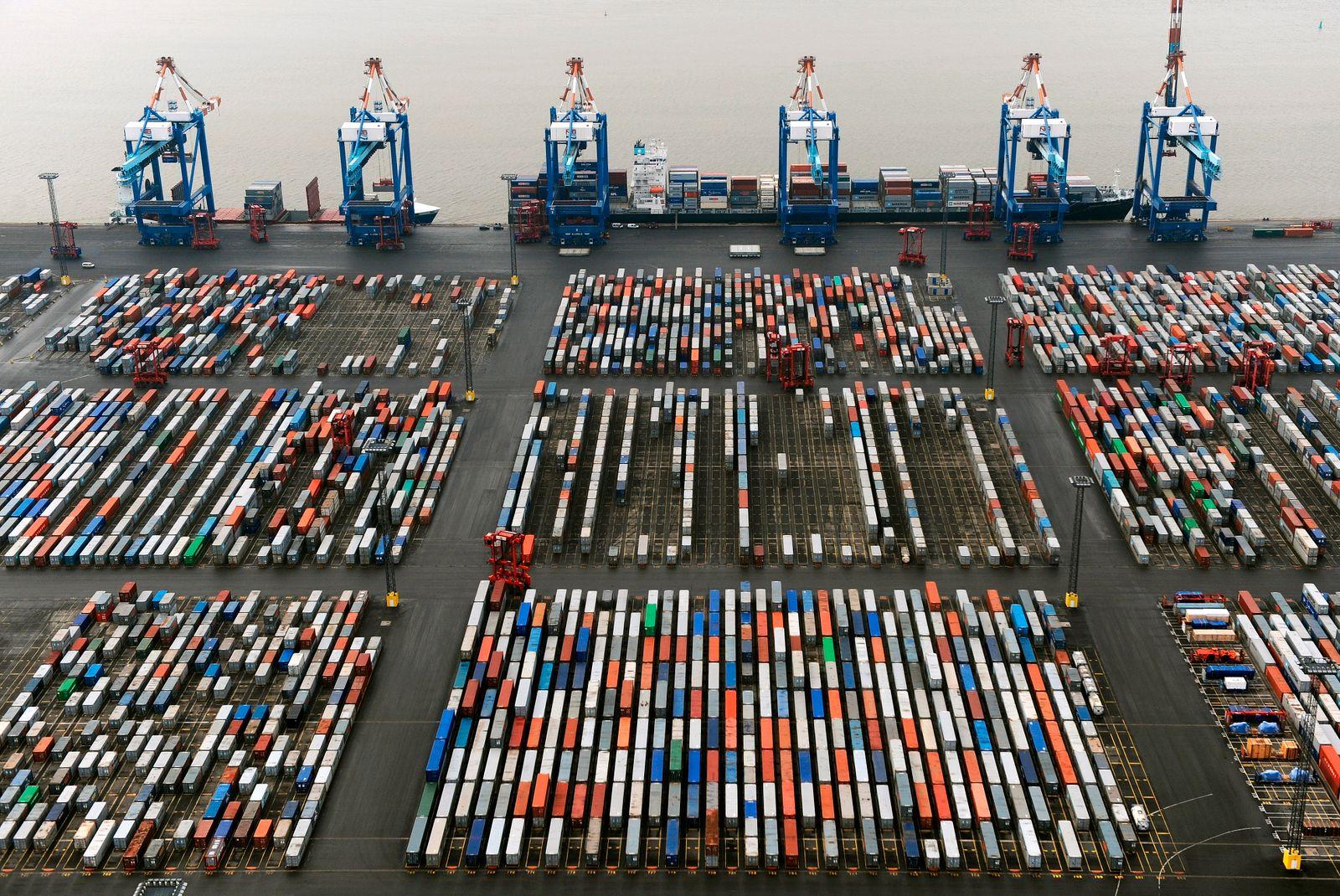 Deutschland / Export / Containerterminal Bremerhaven