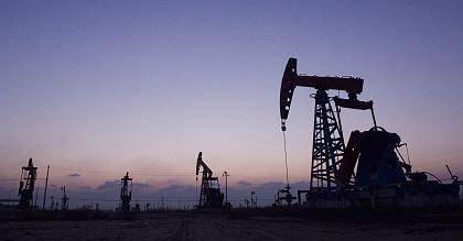 Auf Fünfjahrestief: Der Ölpreis für US-Leichtöl fiel am Donnerstag unter die Marke von 34 Dollar je Barrel
