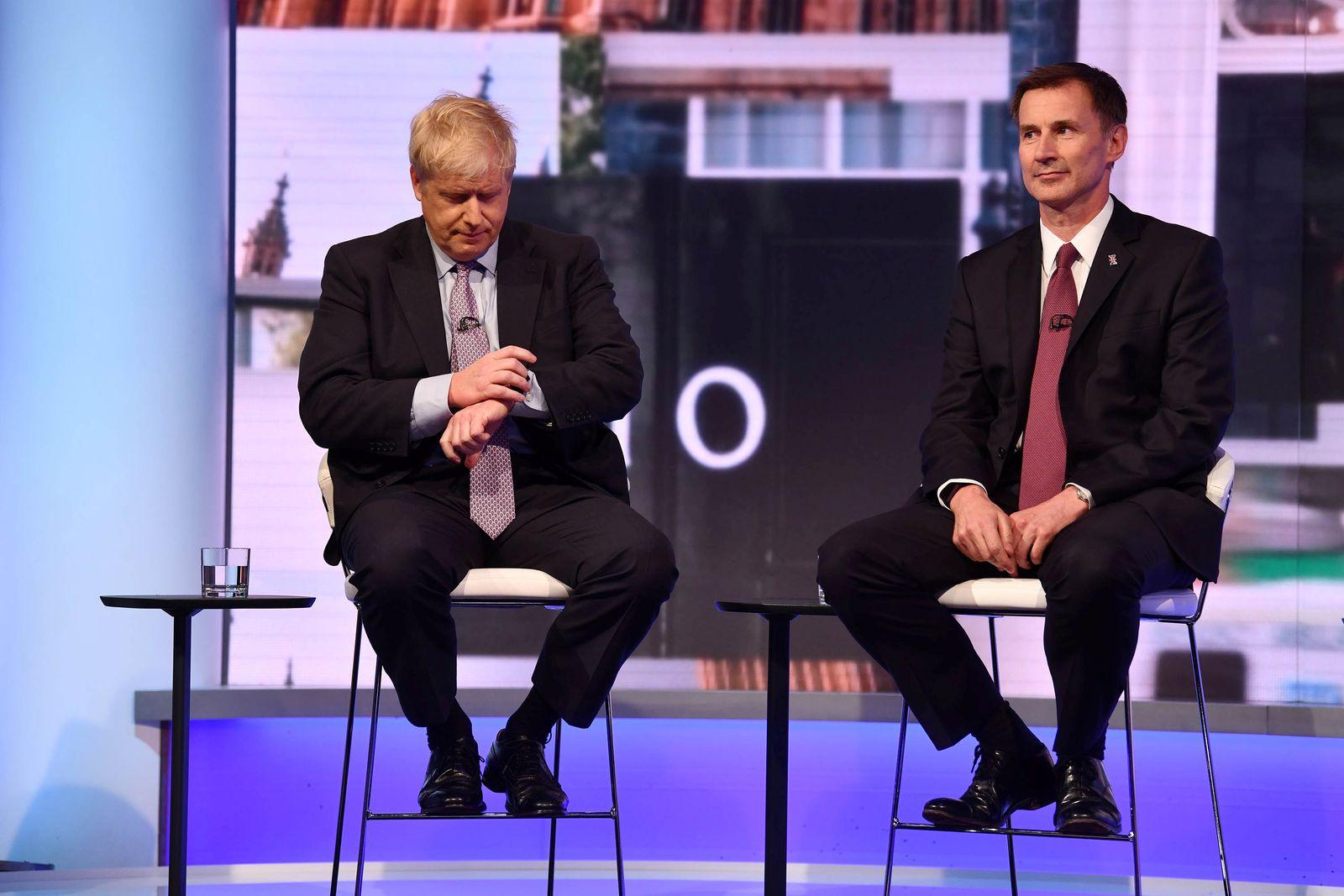 Boris Johnson Jeremy Hunt