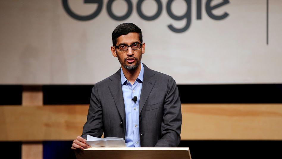 Ein historischer Tag, den sich CEO Sundar Pichai sicher gern gespart hätte: Alphabets Erlöse sinken