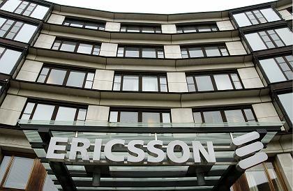 Ericsson: Stabiler Umsatz im Bereich Netzwerk-Ausbau