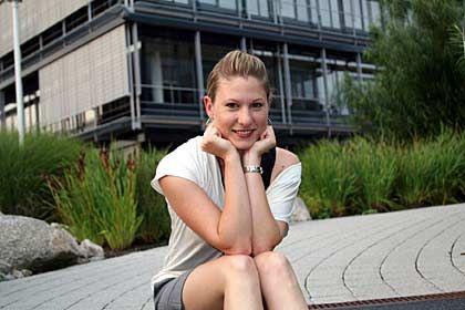 """BWL-Studentin Krämer: """"Wie ein Sprung ins kalte Wasser"""""""