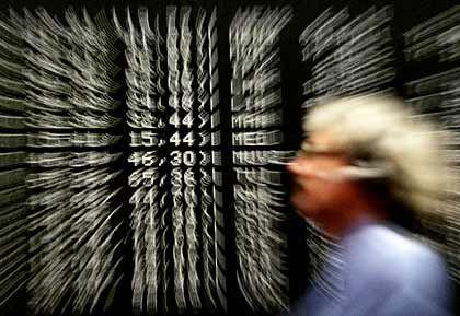 Zahlen: Die Quartalszahlen treiben den Dax nach oben
