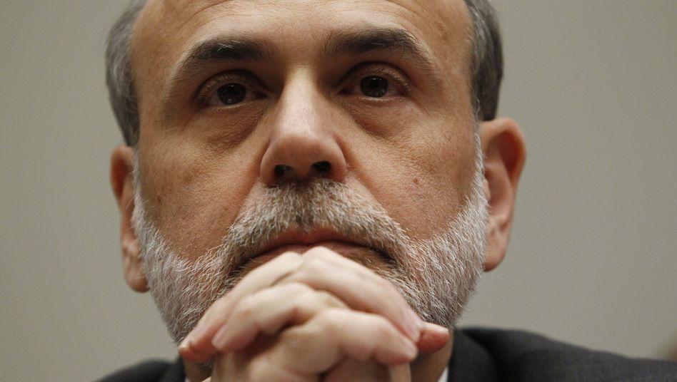 """""""Ernste soziale Konsequenzen"""": Fed-Chef Bernanke warnt vor anhaltend hoher Arbeitslosigkeit"""
