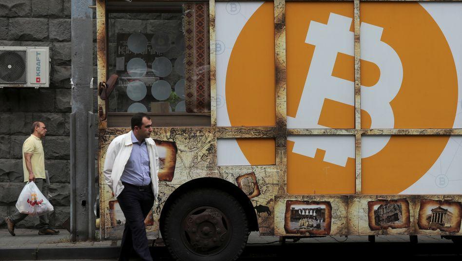 Bitcoin-Logo: Die Digitalisierung der Wirtschaft wird beschleunigt, doch der Bitcoin hat sich in Corona-Zeiten nicht als Krisenwährung erwiesen