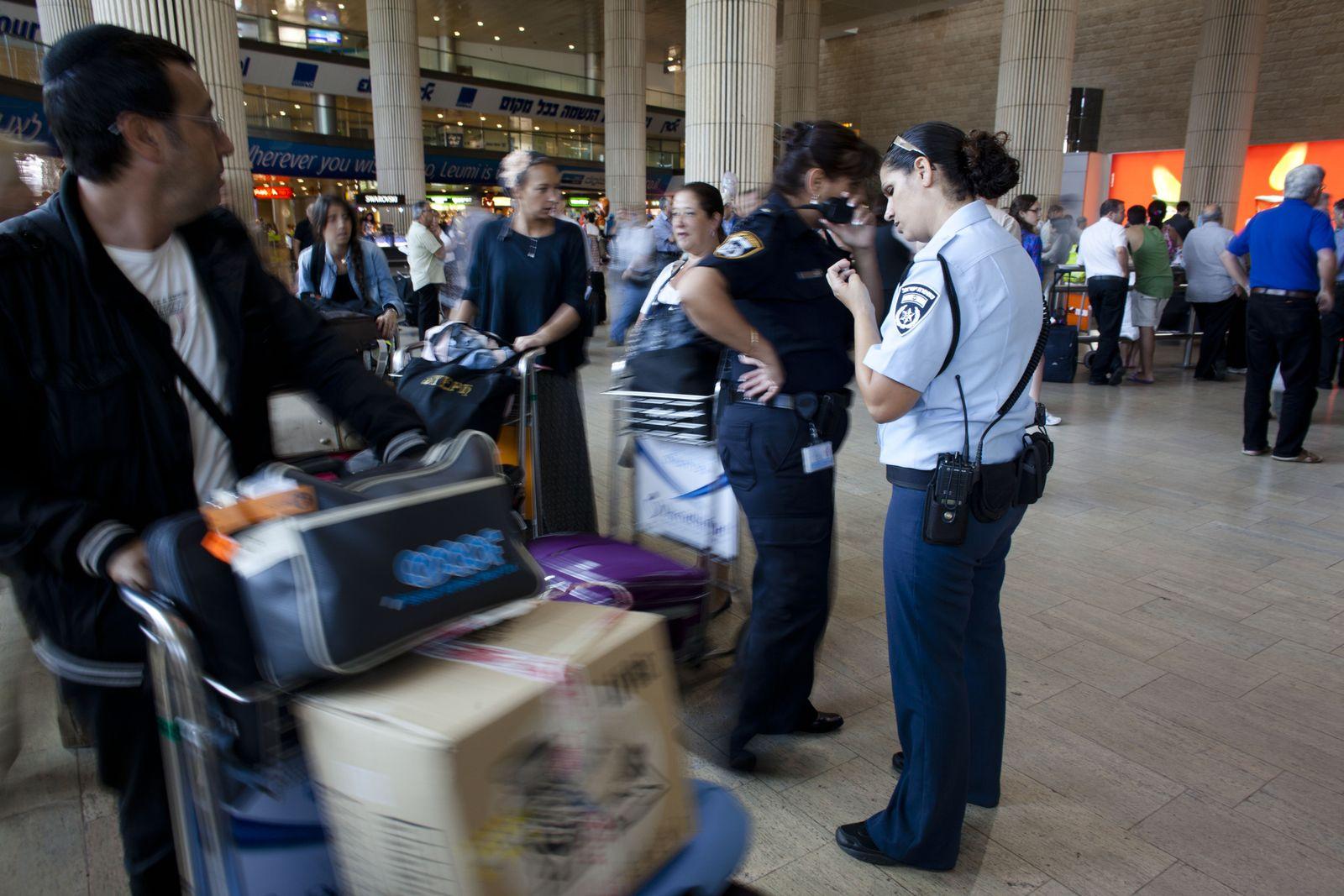 Ben-Gurion-Flughafen/ Sicherheit