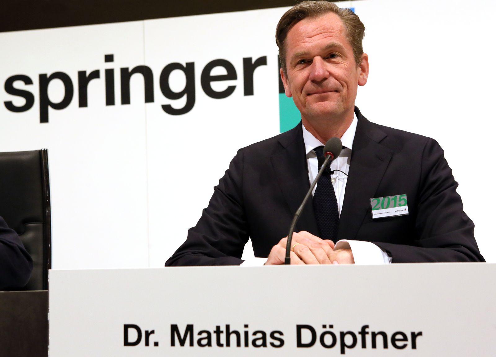 Axel Springer Medienkonzern