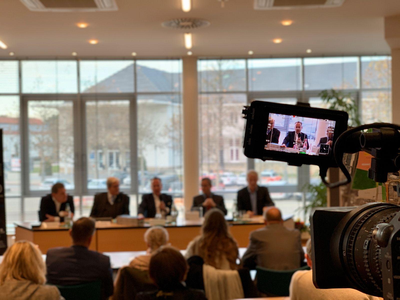 Sascha Kelterborn / Pressekonferenz