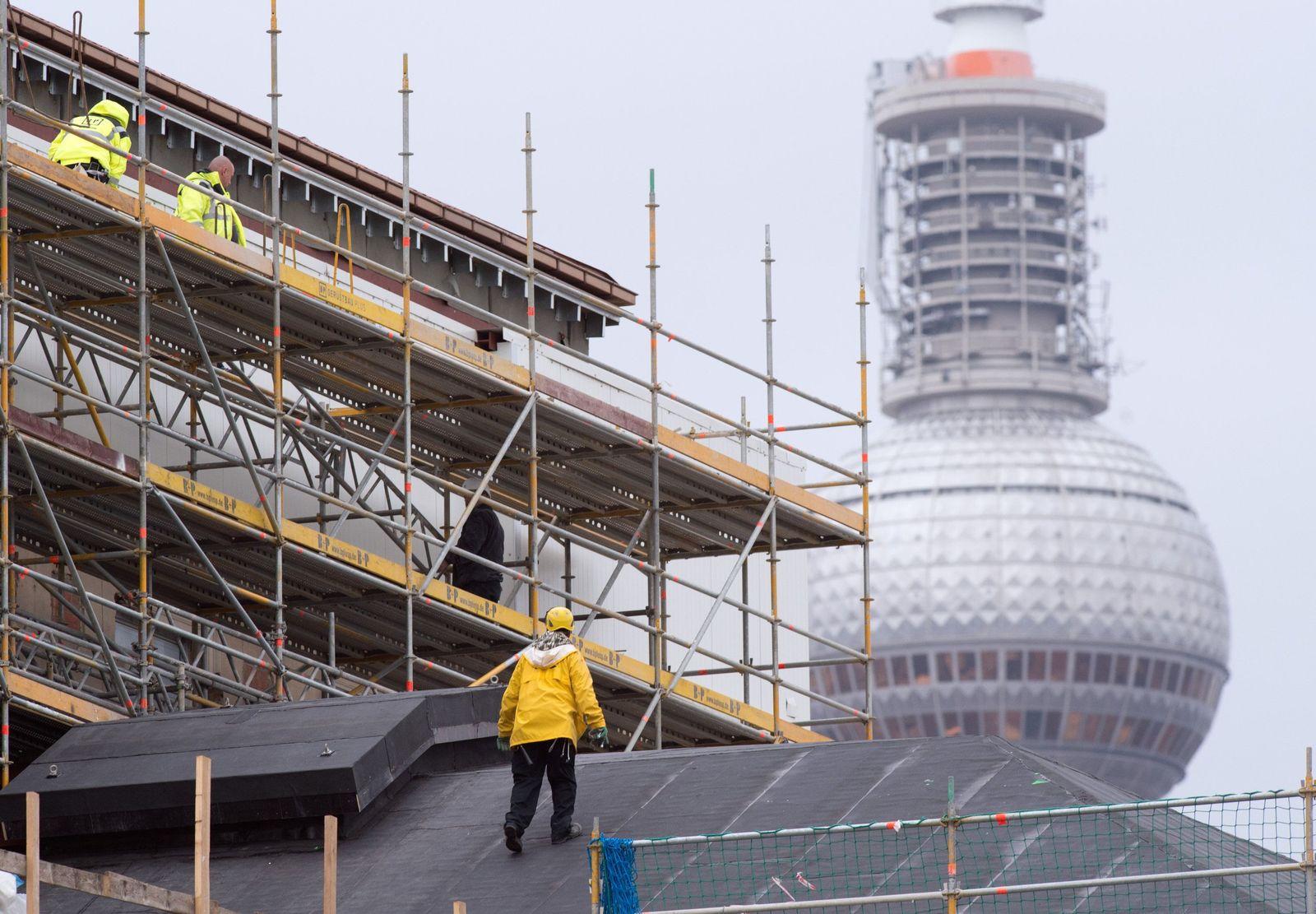 Bauarbeiter Berlin
