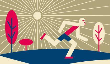 Auspowern: Körperliche Betätigung hilft gegen Stress