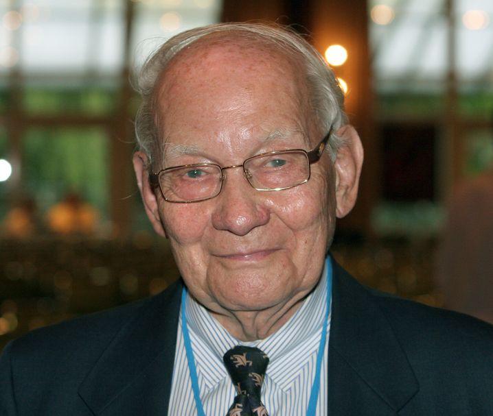 Start-up vom Nobelpreisträger: Chemiker Manfred Eigen (im Bild von 2007, 2019 verstorben) zählt zu den Urhebern von Evotec