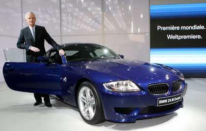 Will vorne bleiben:BMW-Vorstand Panke