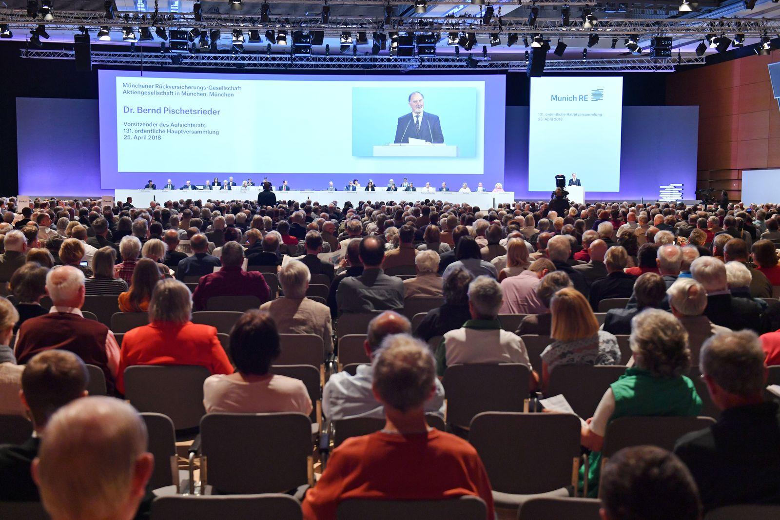 Munich Re Hauptversammlung 2018