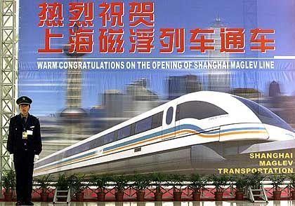Fest in chinesischer Hand: Transrapid