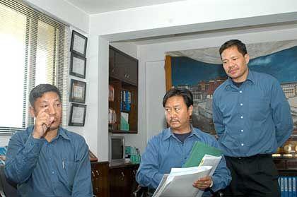 Eine Sache der Logistik: Das Trekking zum Mount Everest muss gut vorbereitet werden