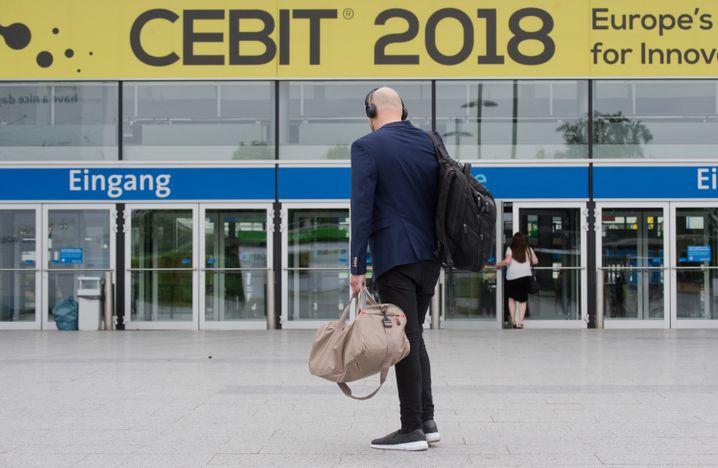 Cebit-Besucher 2018