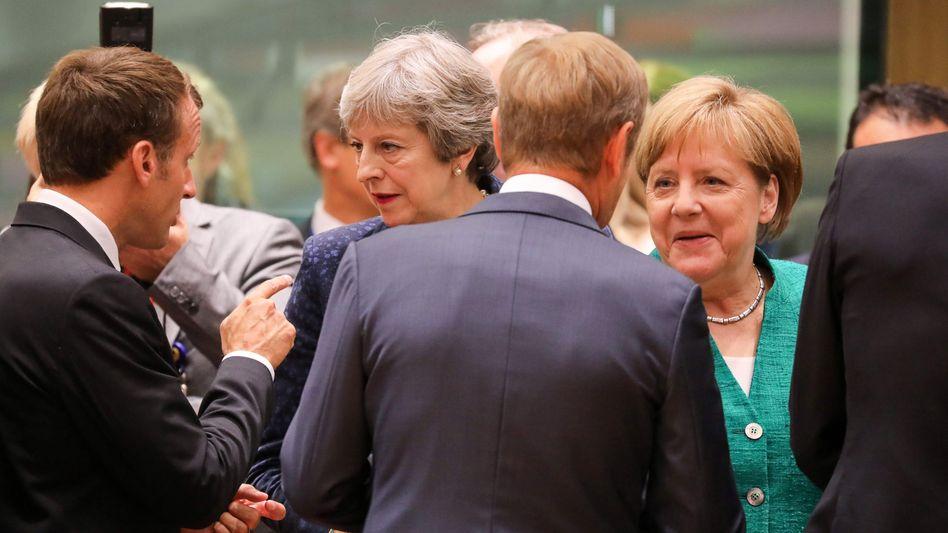 EU-Gipfel in Brüssel: Warten auf Vorschläge der Briten