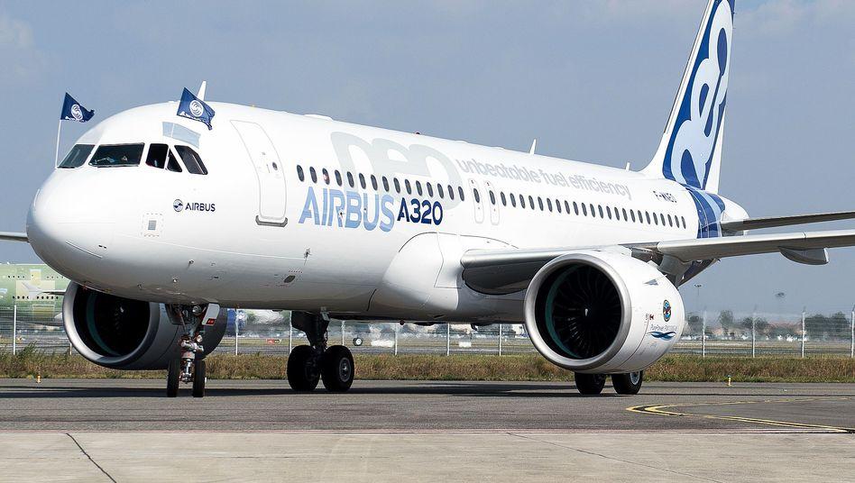 Airbus A320neo: Indiens größte Fluggesellschaft Indigo bleibt Airbus treu - und ordert 280 Flugzeuge des neuen Typs