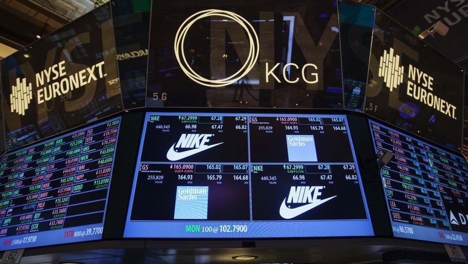 Nike-Aktie: Deutlicher Kursgewinn nach Bekanntgabe des Gewinnschubs