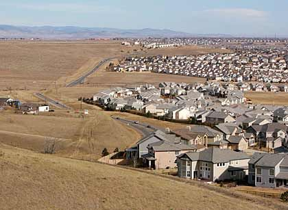 Schwer verkäuflich: Eigenheimsiedlung am Rand von Denver, Colorado