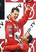 Der Druck ist weg - Schumacher darf feiern