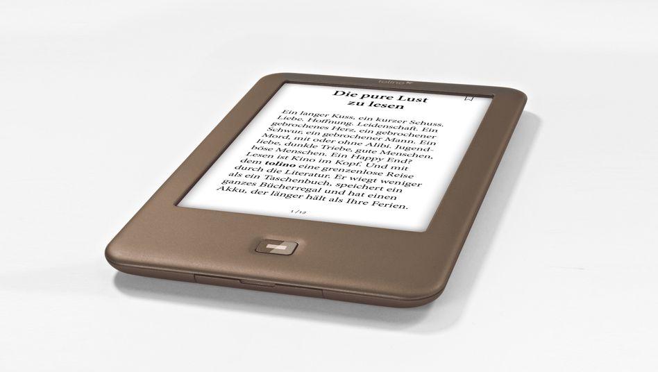 Die Hoffnung des deutschen Buchhandels: Der eBook-Reader Tolino