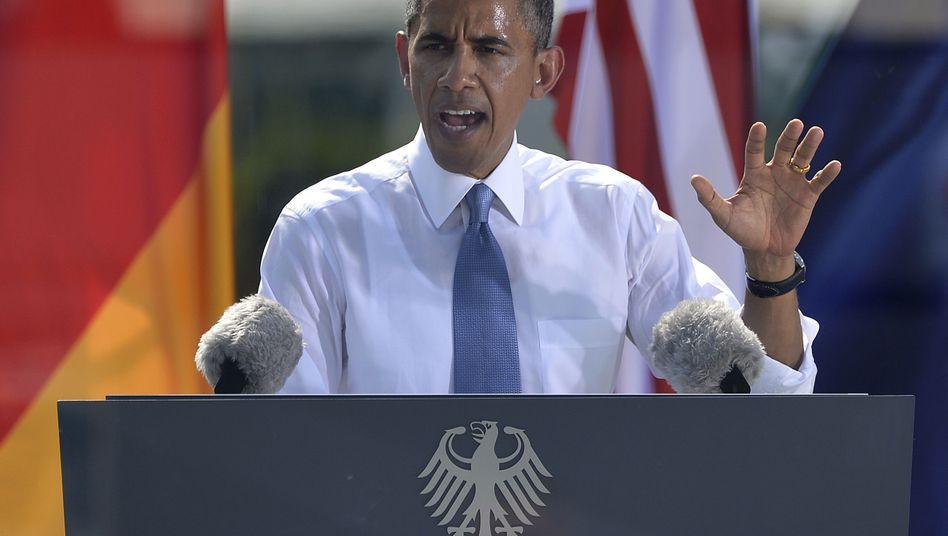 """Prototyp der """"weiblichen"""" Redekunst: US-Präsident Barack Obama"""