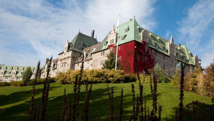 G7 - Hotel Manoir Richelieu: Hier treffen sich die Mächtigen