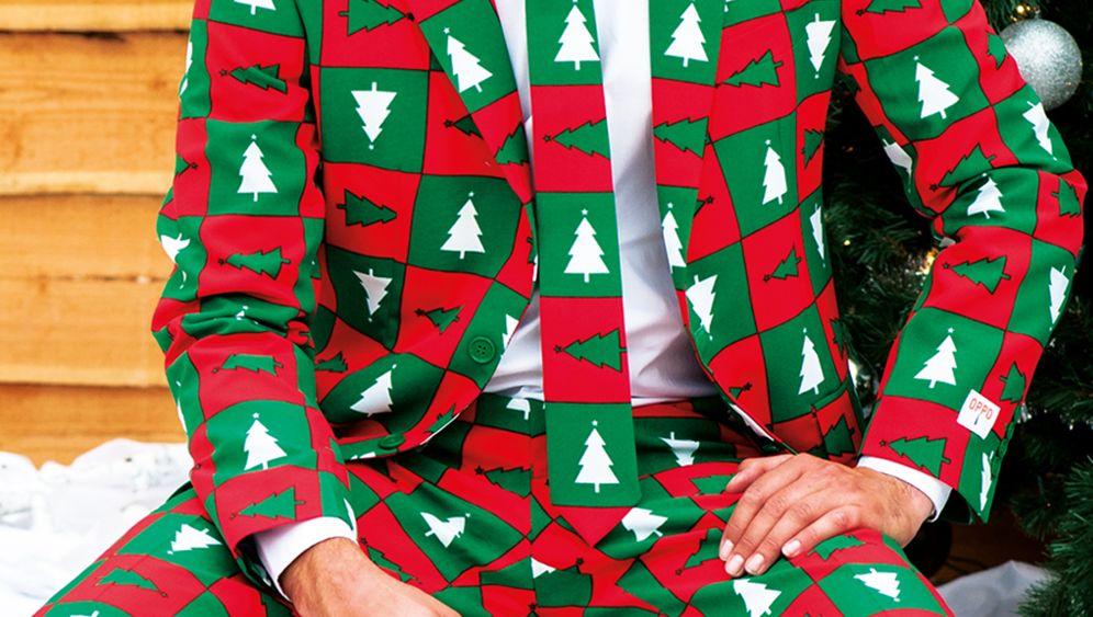 Weihnachtsanzüge: Schrill unterm Tannenbaum