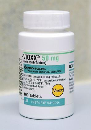 Stein des Anstoßes: Das Schmerzmittel Vioxx