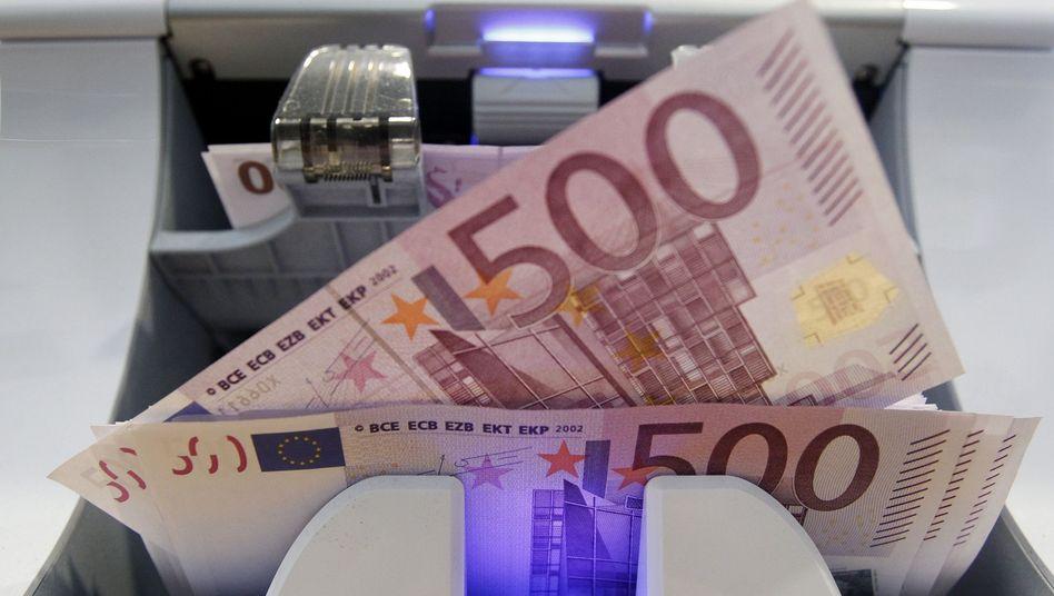 Seltenes Stück: Europas 500-Euro-Schein in der Diskussion