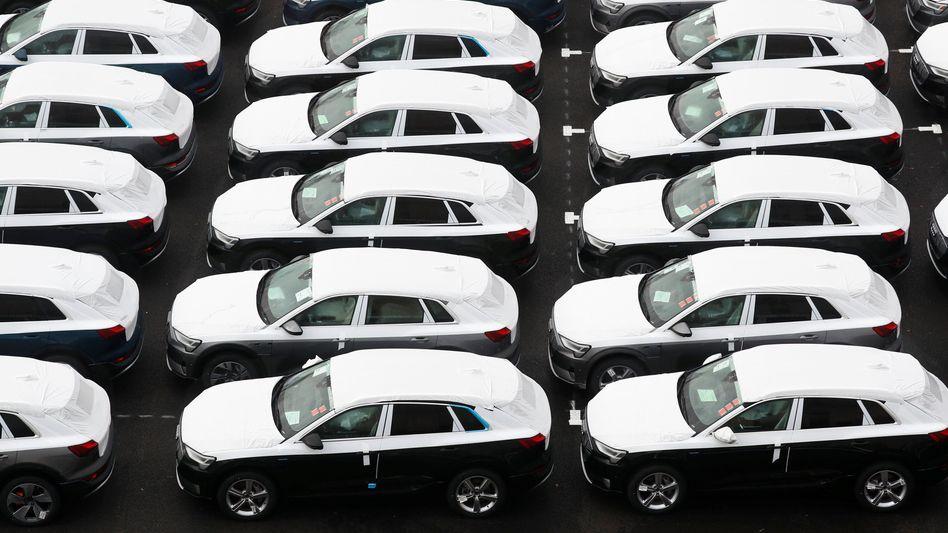 Marktführer - in Norwegen: Audi profitierte mit dem E-Tron vom Boom der Elektro-SUVs
