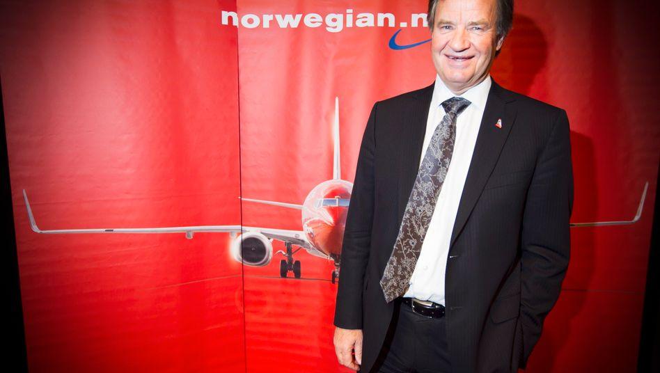 Björn Kjos mischt mit seinem Billigflieger Norwegian den Markt auf - und eine ganze Nation dazu