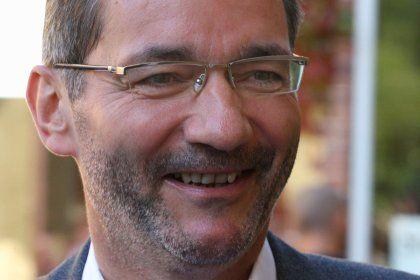 Wahlsieger: Brandenburgs Ministerpräsident Platzeck (SPD)