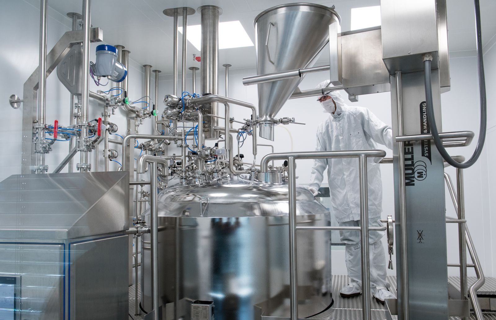 Pharma Unternehmen investieren in Dessau