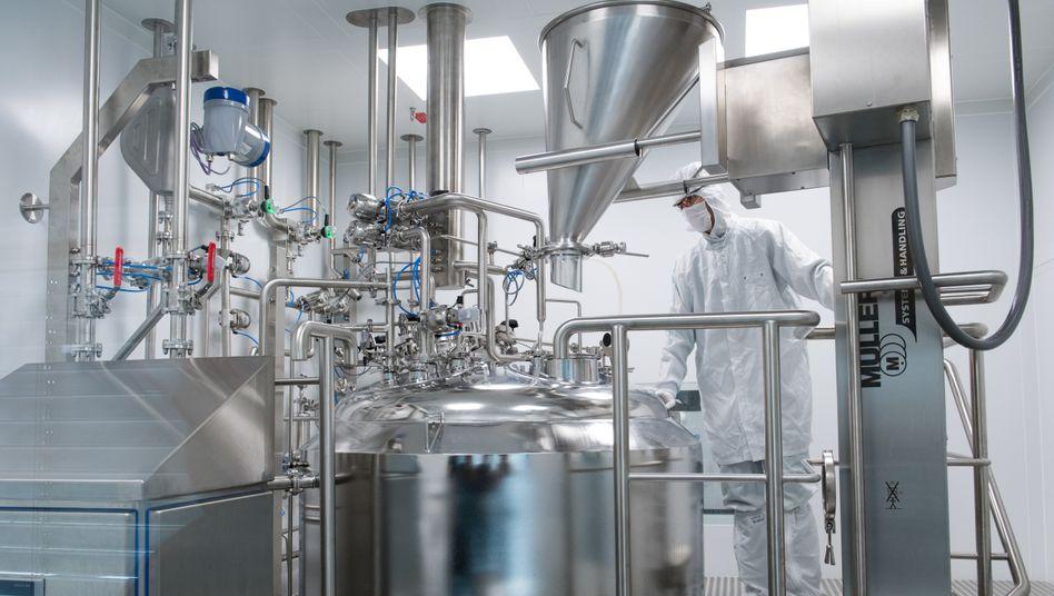 15-Millionen-Euro-Investition in die Zukunft des Unternehmens: Gelmischanlage bei Merz Pharma