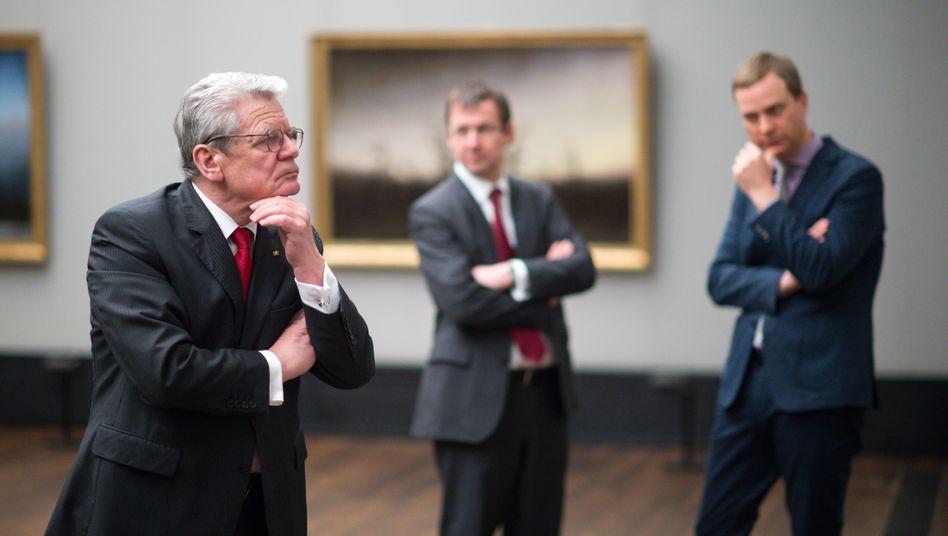 Alt-Bundespräsident Joachim Gauck. Der war zwar nie Chief Digital Officer, hat aber auch immer nach sinnstiftenden Verknüpfungen gesucht.