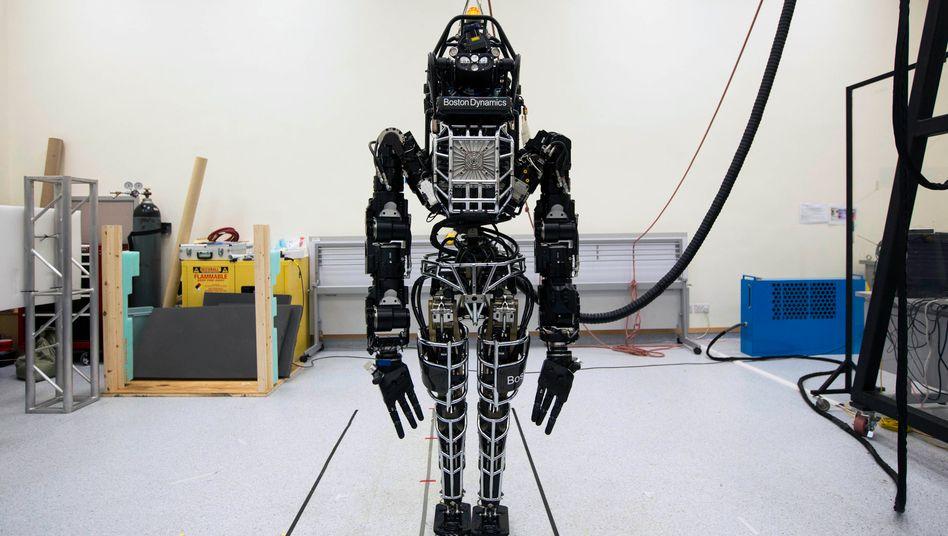 "Einsatzbereit: Roboter ""Atlas"", entwickelt von Boston Dynamics."