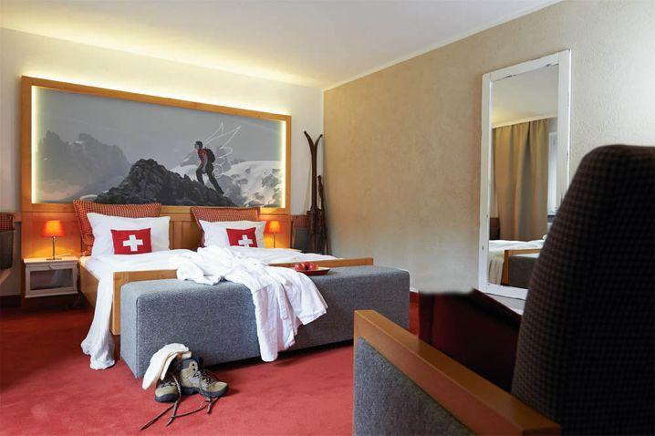 In die Laken springen: Das geht im Hotel Jens Weissflog
